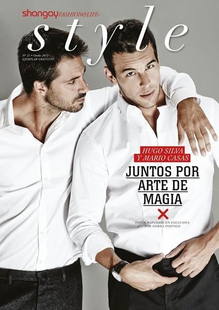 Hugo Silva y Mario Casas en la revista Shangay Style, sí que están para comérselos
