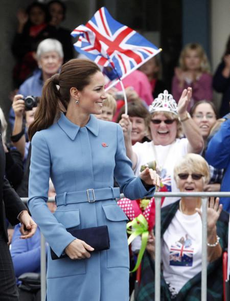 Kate Middleton y su pasión por los abrigos-vestidos, también presentes en Nueva Zelanda