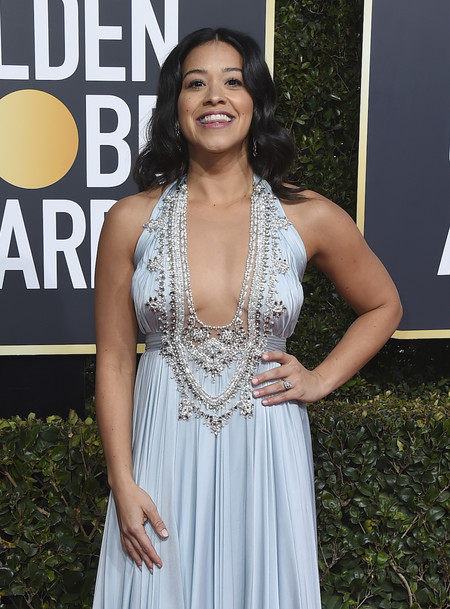 Globos De Oro 2019 Melenas Gina Rodriguez