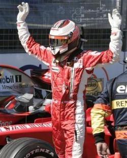 Raikkonen, el mejor debutante de Ferrari
