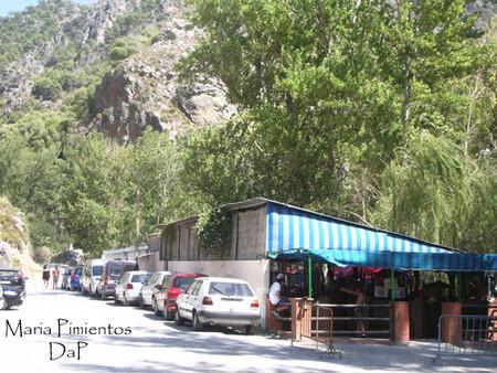 Merendero Los Alayos. Gastronomía en el Rio Dilar