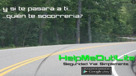 HelpMeOut! para Android, una aplicación para ayudar a los motoristas en caso de accidente