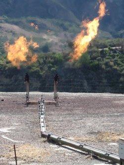 Quema de gas natural: el desperdicio del siglo