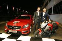AMG se une a Ducati. ¿Salchichas alemanas con spaguetti?