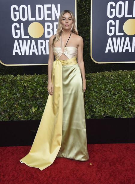 Sienna Miller globos de oro 2020