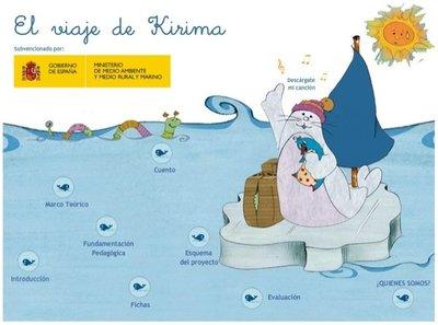 El viaje de Kirima para informar a los niños sobre el medio ambiente
