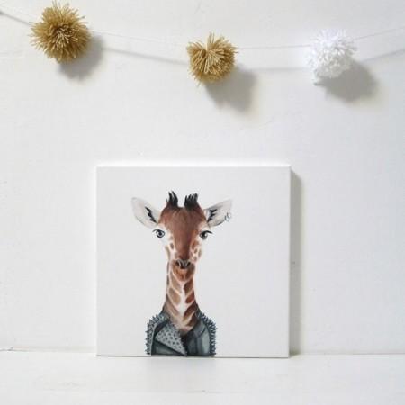 Dale un toque inocente a tu habitación con las pinturas de Inameliart