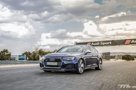 Audi RS4 2018 Prueba