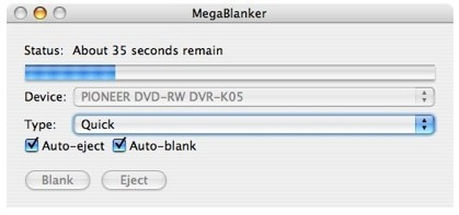 MegaBlanker borra tus cds y dvd