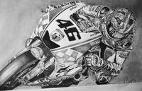 Benjamín Jiménez y el arte de llevar el motociclismo al papel