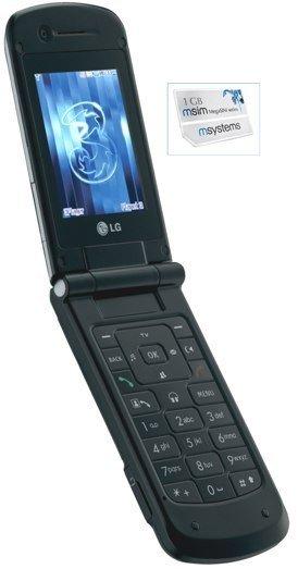 LG U830 con MegaSIM de 1GB