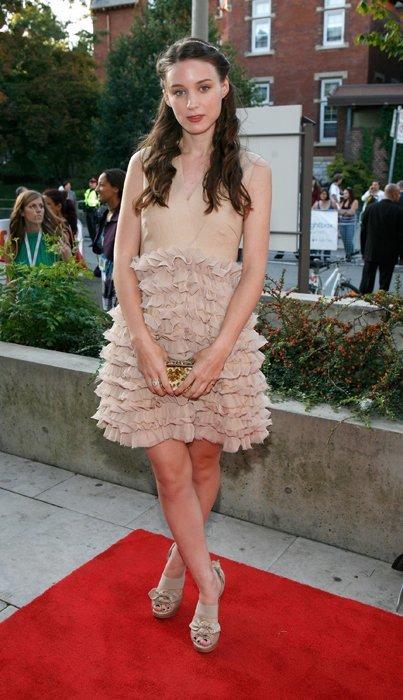 Rooney Mara vestido