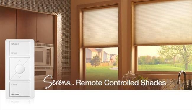 Serena las nuevas cortinas con control remoto de lutron for Cortinas espana