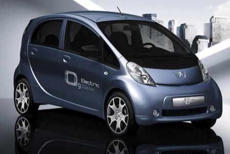 Peugeot i0n, coche eléctrico basado en el Mitsubishi 'i'