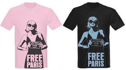 """Camisetas """"Free Paris"""""""