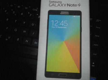 Comienzan a aparecer imágenes filtradas del teórico Samsung Galaxy Note 4