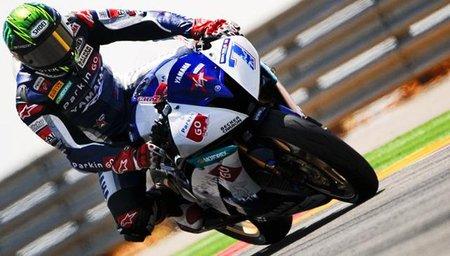 Supersport España 2011: Broc Parkes no pudo con la presión de Chaz Davies