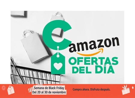 Ofertas del día y bajadas de precio en Amazon: por el Black Friday tienes smartphones Samsung o Xiaomi, cámaras Canon, impresoras HP o robots aspirador Roomba a precios rebajados