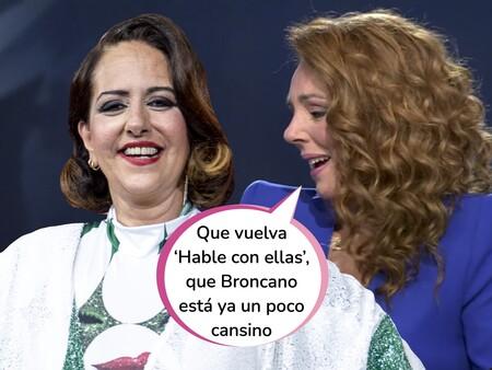 """La emocionante (y necesaria) intervención de Yolanda Ramos en la entrevista en directo a Rocío Carrasco: """"A nosotras, esos hijos de puta no nos han dejado ser"""""""