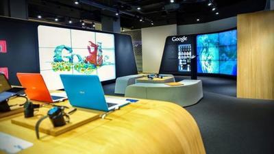 Google abre su primera tienda física en Londres