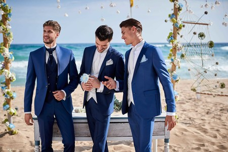 Para novios e invitados aquí está la colección de bodas 2019 de Carlo Pignatelli