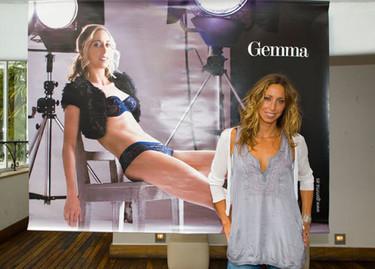 Gemma Mengual modelo de ropa interior