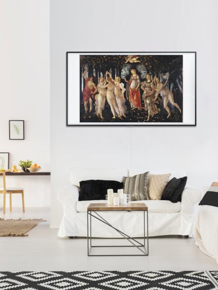 televisor samsung the frame 2018 diseñoThe Frame 2018 10