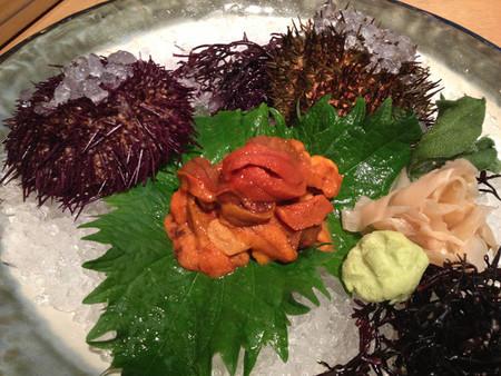 El erizo de mar llega al 99 Sushi Bar, de la mano de su chef David Arauz