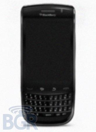 Blackberry con pantalla táctil y teclado QWERTY deslizante