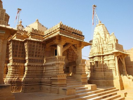 El templo jainista de Lodruva, en Jaisalmer