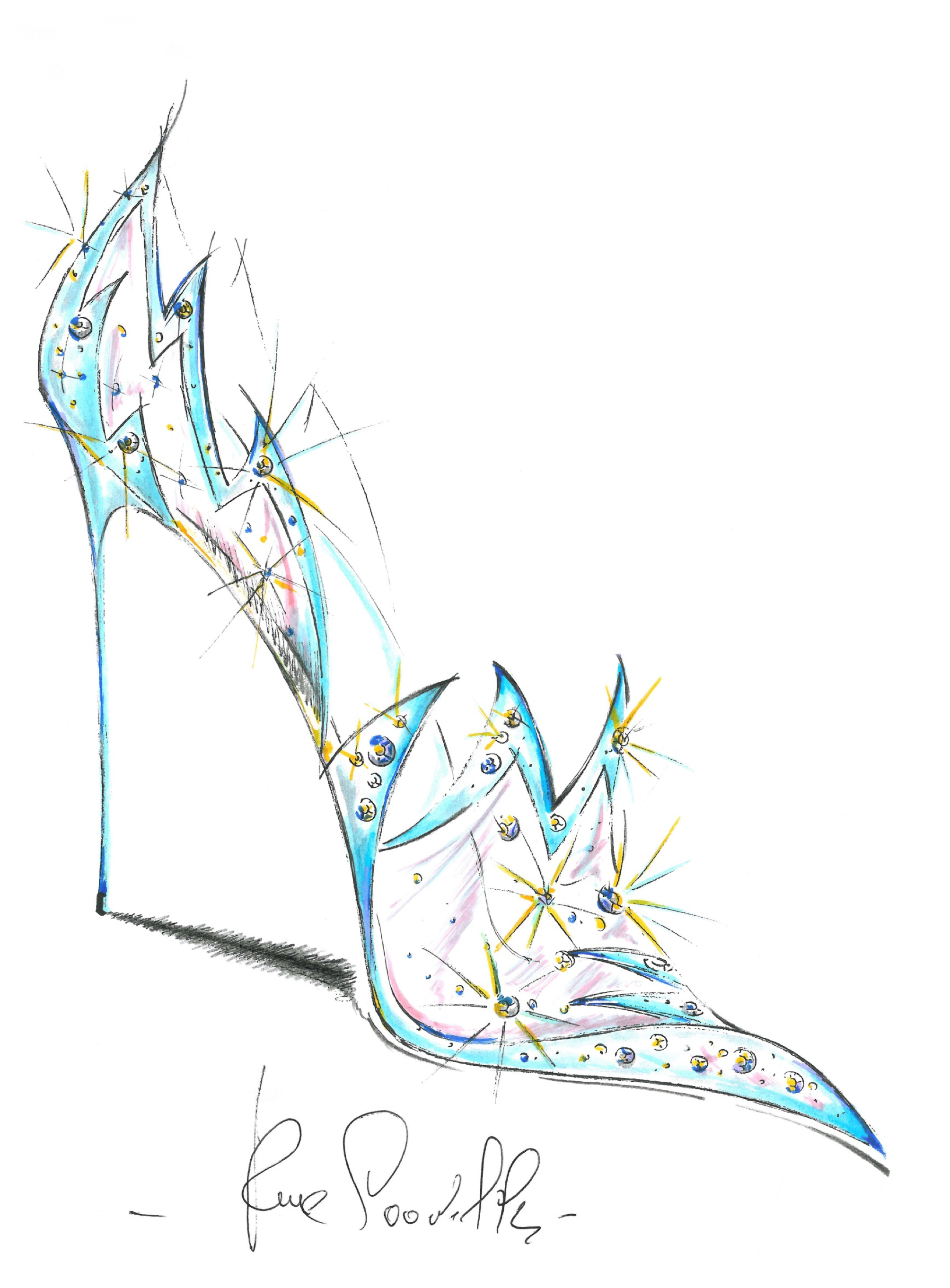 Foto de Christian Louboutin, Jimmy Choo… Los zapatos de Cenicienta en versión lujo (8/10)