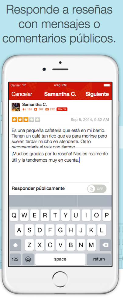 Review Yelp Empresas