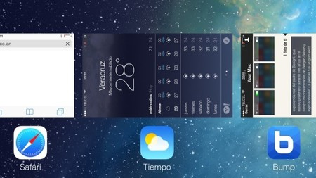 Multitarea iOS 7