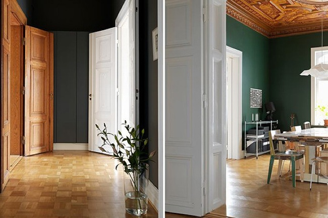 Foto de Puertas abiertas: un elegante apartamento en Estocolmo (3/5)