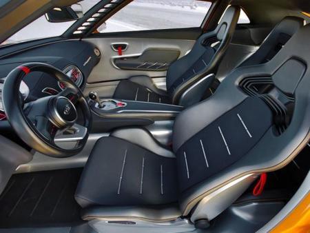 Kia GT4 Stinger, vista interior