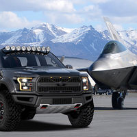 "Este espectacular one-off es la Ford ""F-22"" Raptor, una pick-up única inspirada en la aviación militar"