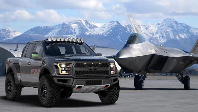 """Este espectacular one-off es la Ford """"F-22"""" Raptor, una pick-up única inspirada en la aviación militar"""