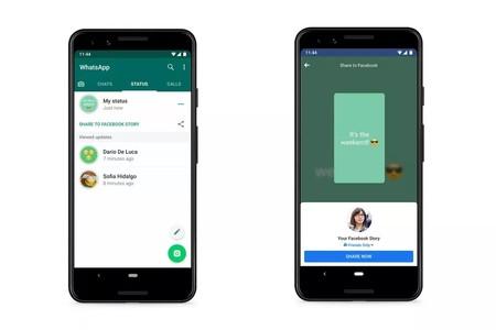 Whatsapp Compartir Estados Facebook Otras Apps