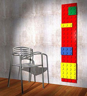 Radiador Lego para la habitación infantil