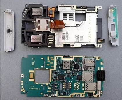 Imagen de la semana: Nokia N95 destripado