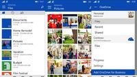 OneDrive para Windows Phone se actualiza con nueva interfaz y soporte para empresas