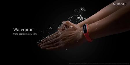 Xiaomi Mi Band 3 Resistencia Agua