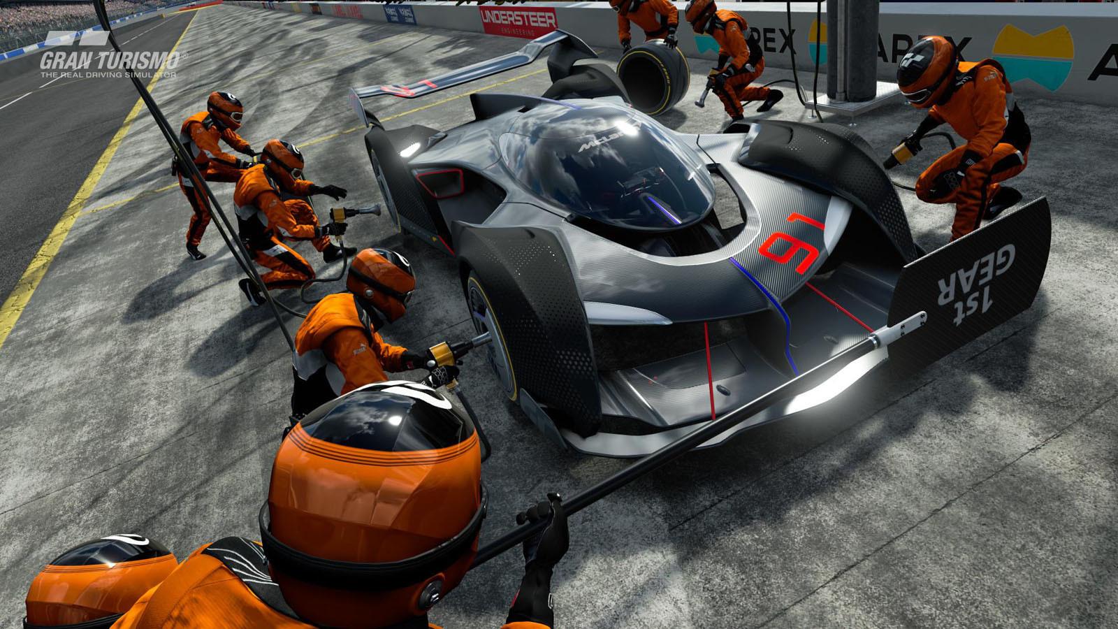 Foto de McLaren Ultimate Vision Gran Turismo (7/10)