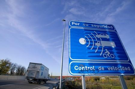 Radar Control De Velocidad Cartel