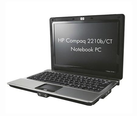 HP Compaq 2210b/CT, de momento solo en Japón