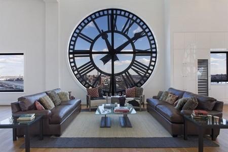 Este apartamento de lujo ha sido construido en la Torre del Reloj de Brooklyn, es una chulada y está a la venta