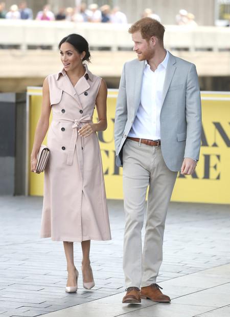 El Duque De Sussex Conquista El Perfecto Look En Tonos Neutros Para El Verano 2