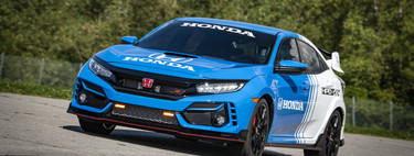 Honda Civic Type R Pace Car 2020, el deportivo nipón se declara listo para sacar humo a la pista