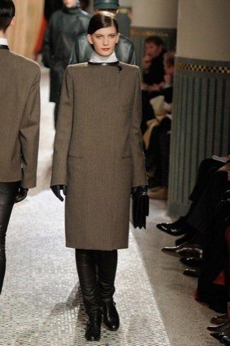 Hermès Otoño-Invierno 2011/2012 abrigos rectos