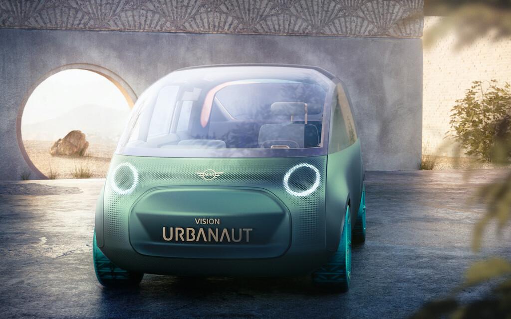 MINI Vision Urbanaut: el nuevo concepto de MINI es un monovolumen donde relajarse parece más importante que conducir